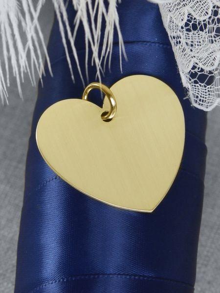 Heart Charm-Gold