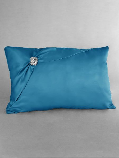 Garbo Kneeling Pillow-Turquoise