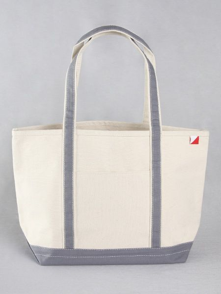 Classic Canvas Tote Bag - Grey