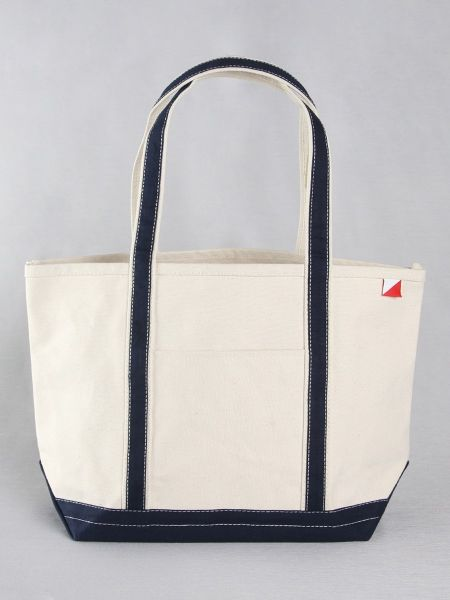 Classic Canvas Tote Bag - Navy
