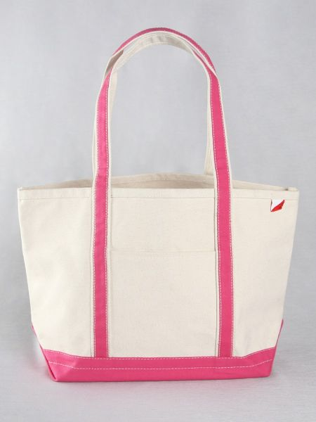 Classic Canvas Tote Bag - Pink