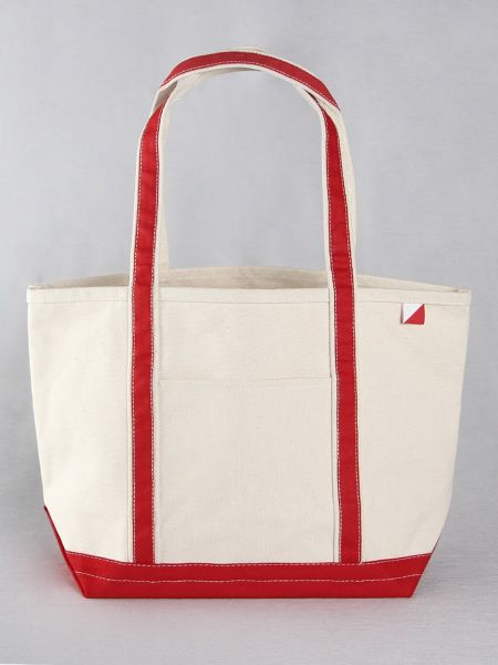 Classic Canvas Tote Bag - Red