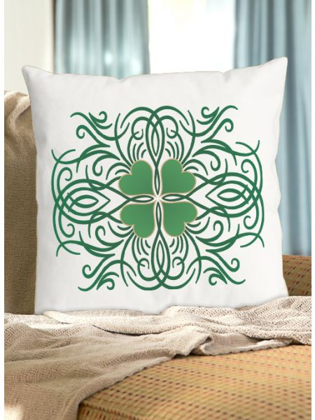 Green Vines Pillow