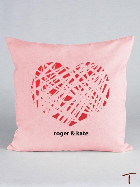 Tenereze Exclusive | Red Heart Pillow