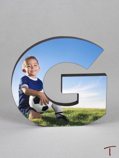 Photo Collage Letter Frame - G