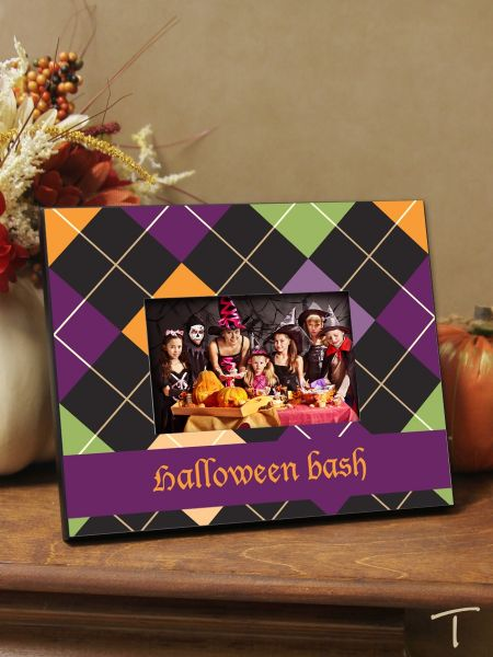 Tenereze Exclusive | Argyle Halloween Frame