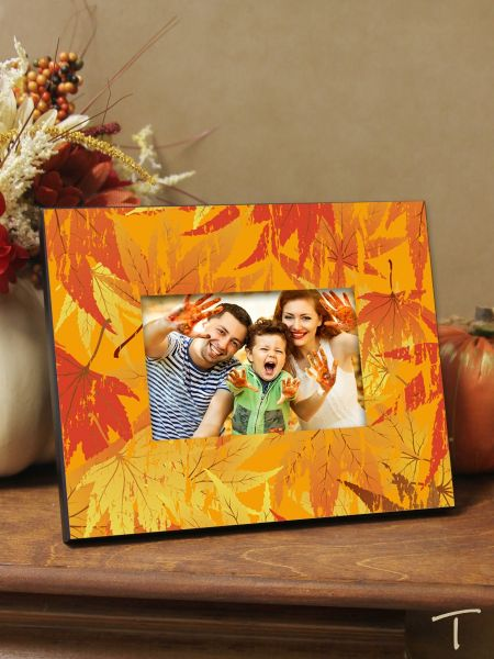 Tenereze Exclusive | Fall Leaves Frame