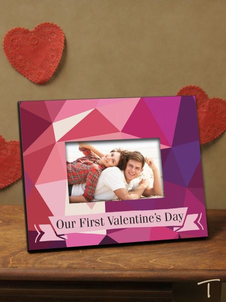 Tenereze Exclusive | Geometric Valentine's Day Frame