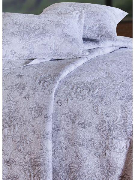 Camellia Silver Quilt