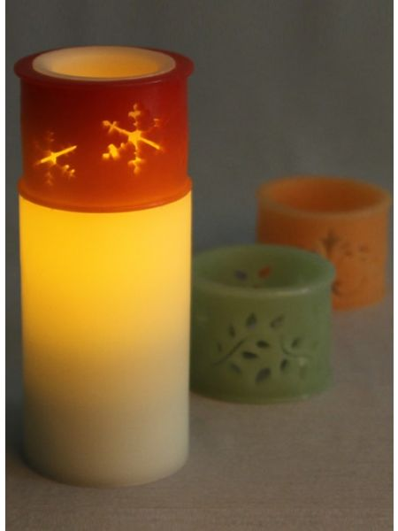 3 in 1 Scented LED Candle