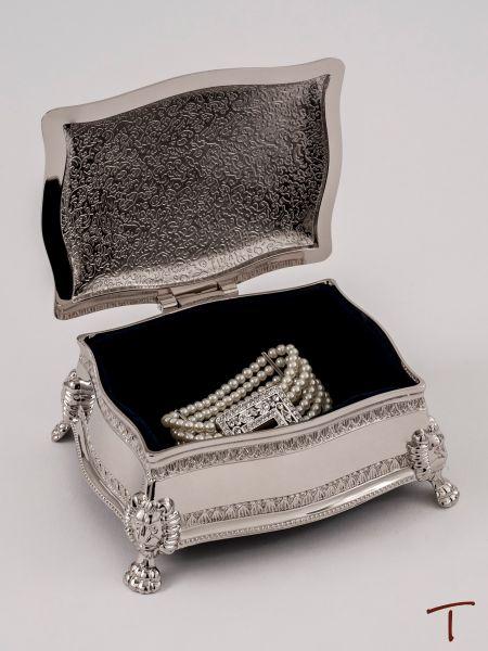 Figaro Rectangular Jewelry Box
