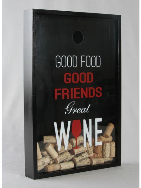 Great Wine Shadow Box