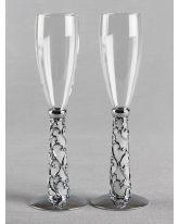 Elegant Vine Flutes