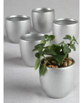 Round Flower Pots