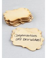 Fancy Wood Guest Cards 10pk