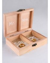 Mr. and Mrs. Ring Bearer Box
