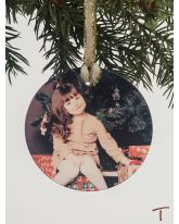 Round Personalized Ornament