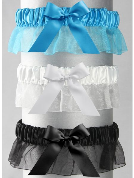 Bella Garter with Bow