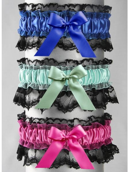 Britney Garter with Bow