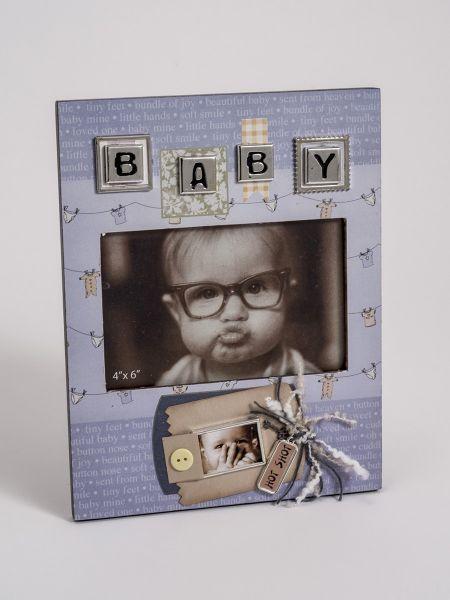Baby Boy 3-D Frame