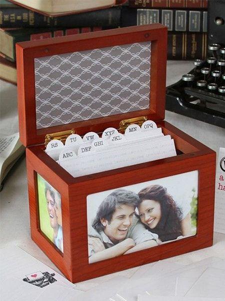 Guest Card Box, Cherry