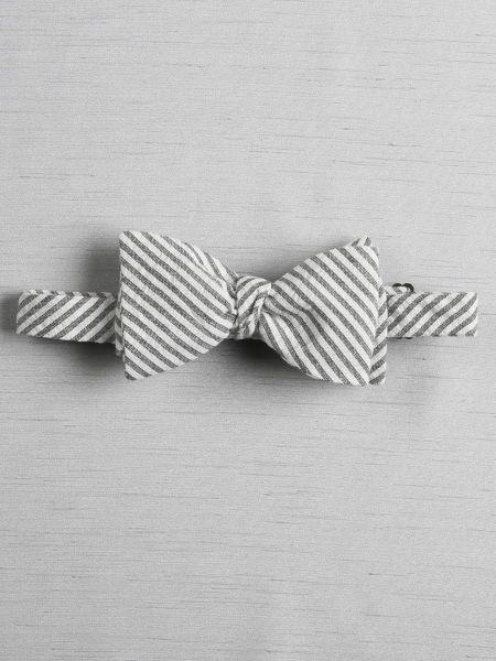 Seersucker Bow Tie