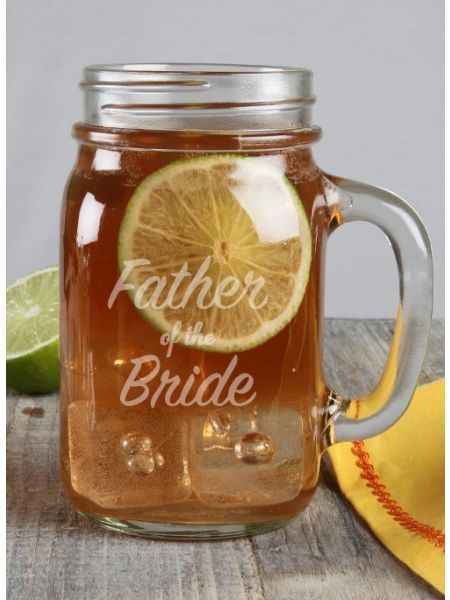 Father of the ...Mason Jar Mug