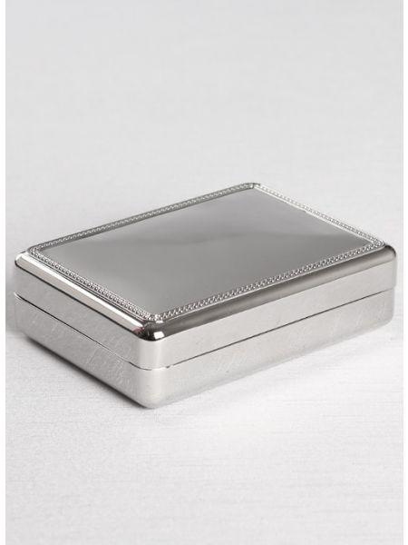 Double Velvet Jewelry Box - Small