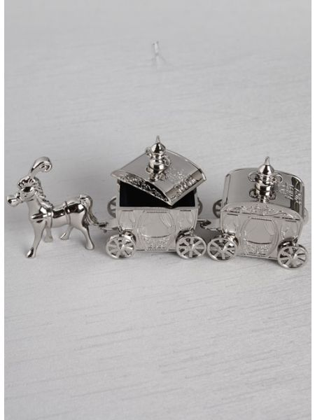 Horse & Carriages Tooth & Curl Box