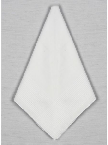 Cotton Strip Men's Handkerchief
