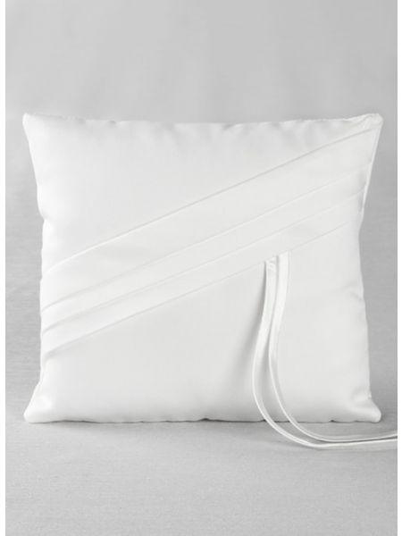 Audrey Ring Pillow-White