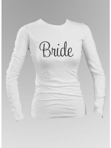 Bride Long Sleeve Top