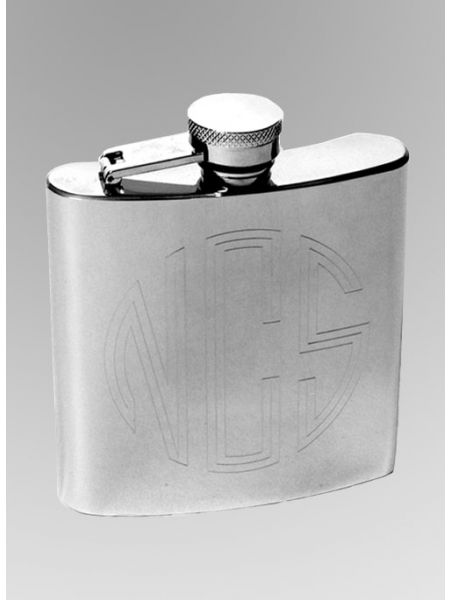 Stainless Steel Flask with Curve