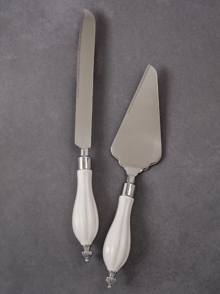 Ceramic Handle Server Set
