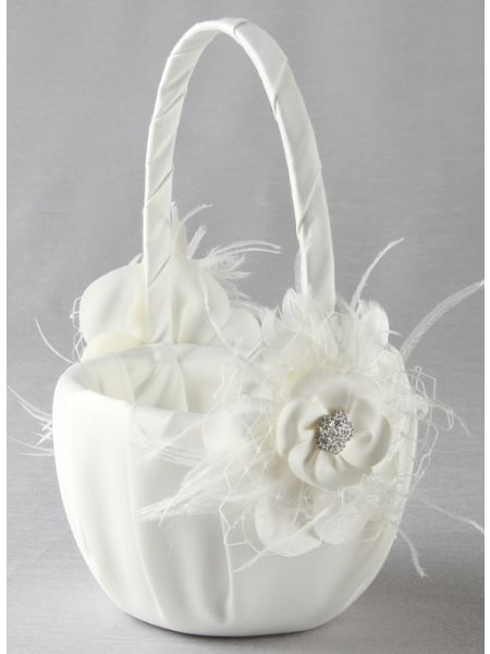 Somerset Flower Girl Basket