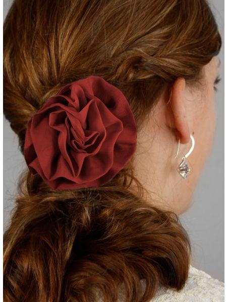 Chelsea Hair Piece-Claret