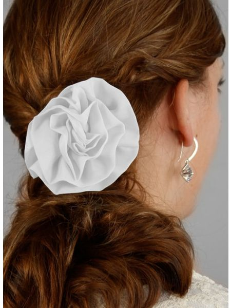 Chelsea Hair Piece-White