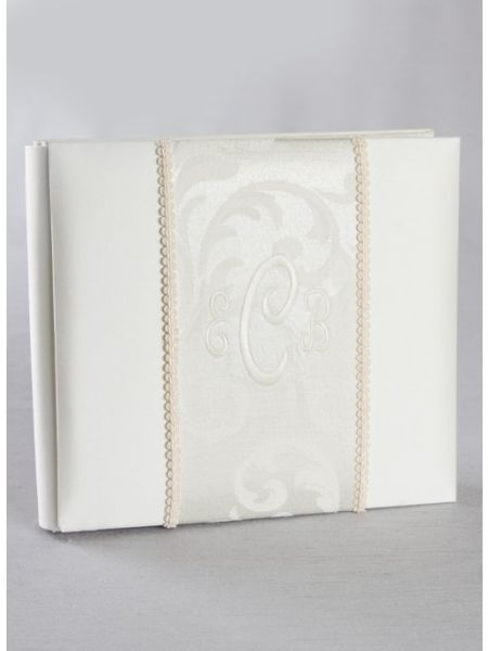 "Brocade Monogram 8"" x 8"" Album"