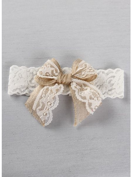 Country Romance Bridal Garter
