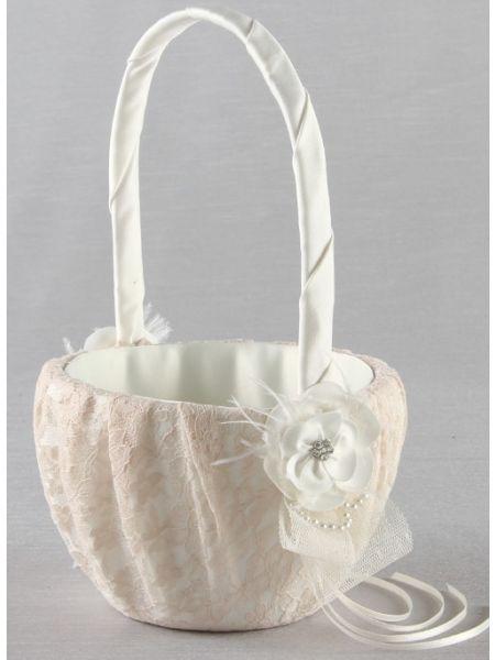 Bianca Flower Girl Basket
