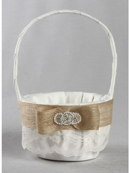 Savannah Flower Girl Basket