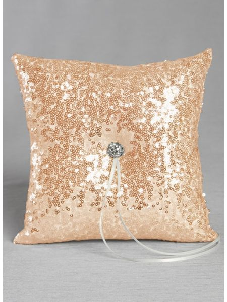 Elsa Shiny Sequin Ring Pillow