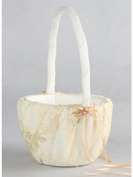 Florence Flower Girl Basket