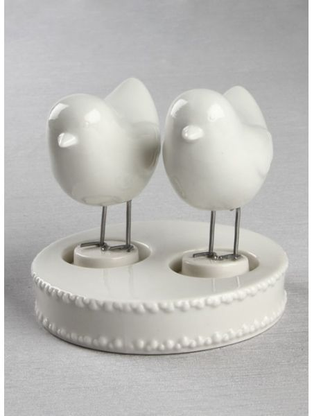 Love Bird Figurines and Base
