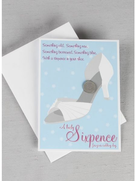Lucky Sixpence for Your Shoe