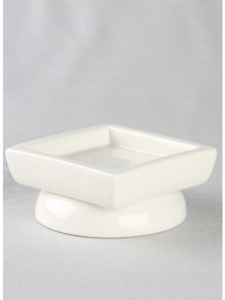 Porcelain Round/Square Pillar Holder