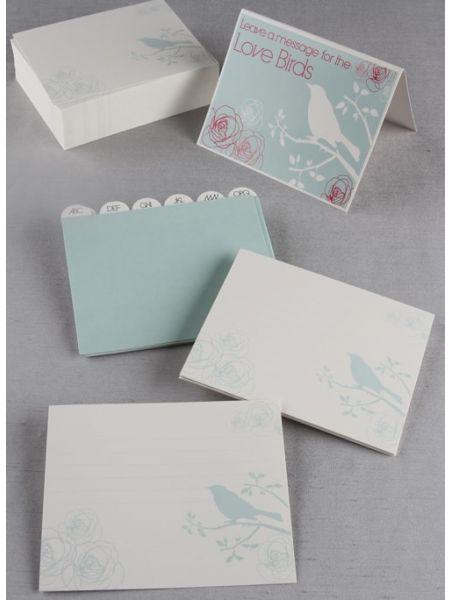 Bird Silhouette Guest Cards
