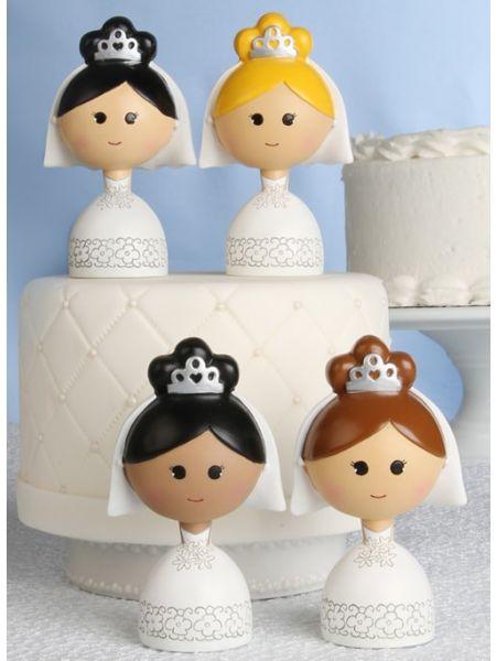 Bride Kokeshi Figurine