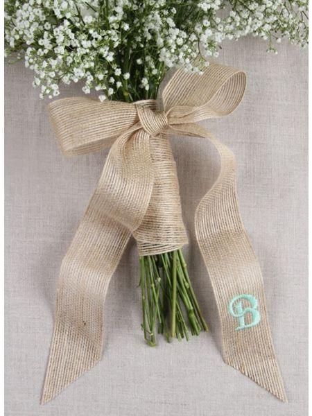Jute w/Tails Bouquet Wrap