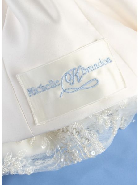 Dress Label, First Names w/Single Initial, Ivory
